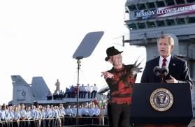 The U.S. didn't accomplish their mission alone. Freddie and GW: July 27, 2013