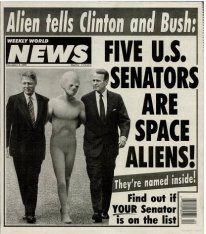 Weekly World News-Bush
