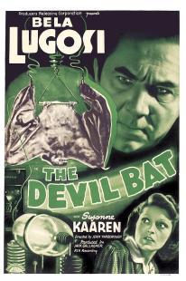 The Devil Bat film poster