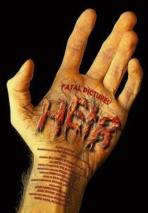 """Release poster for """"Heir"""" horror short film."""