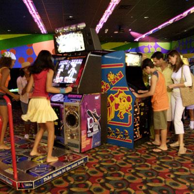 Arcade Games that America likes