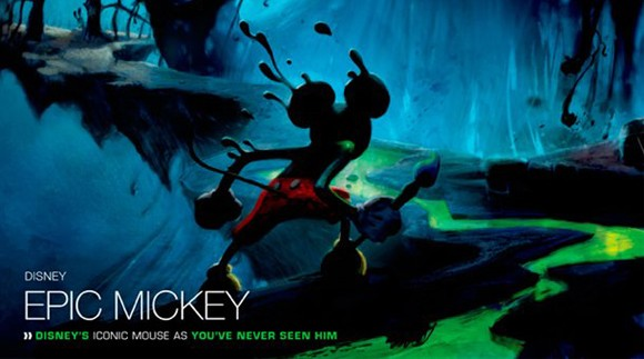 Epic Mickey Paintbrush and Tron Controllers Review
