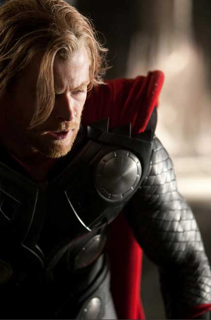 Visit the set of Thor