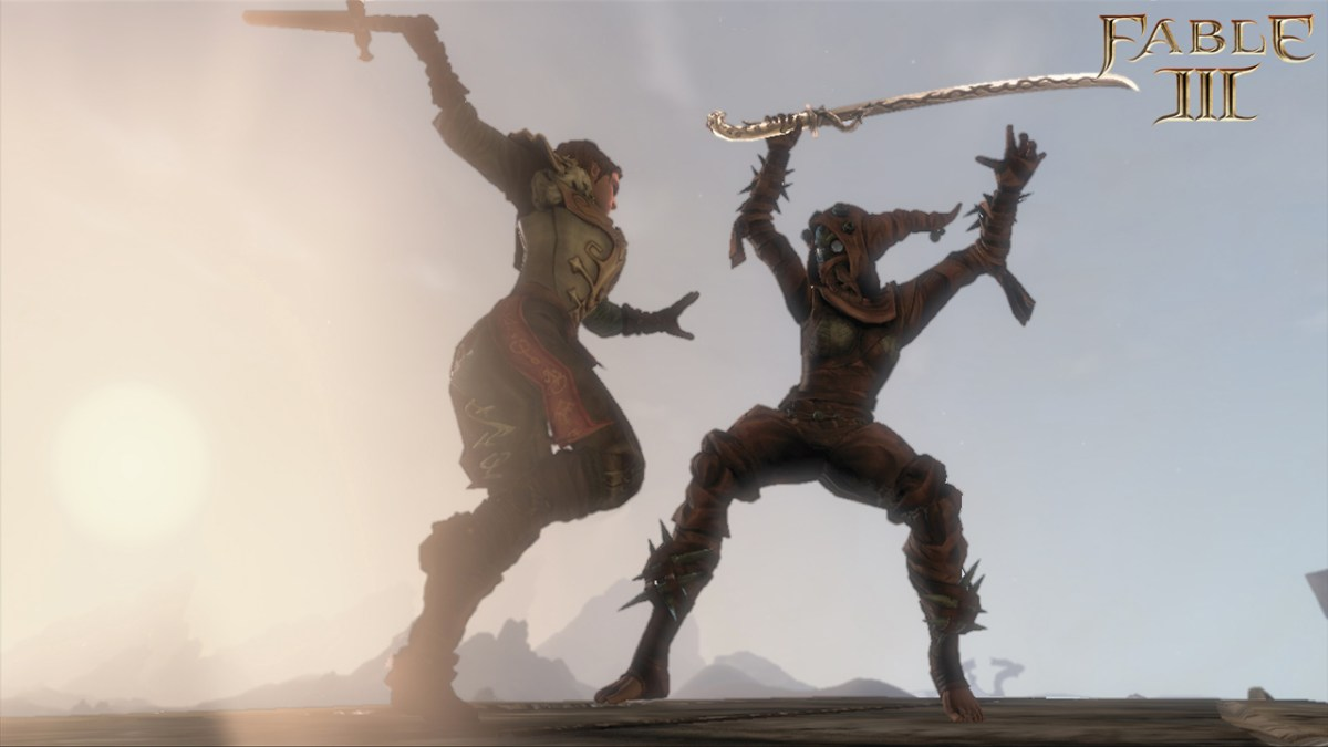 New Fable III Screenshots Show Off Swords, Tusken Raiders