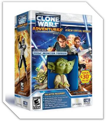 Star Wars Clone Wars Adventures Galactica Passport Giveaway