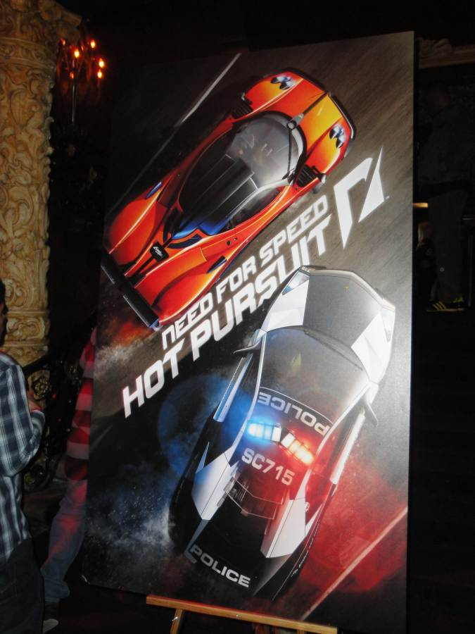 Need For Speed: Hot Pursuit Launch Party