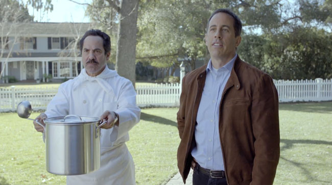 Jerry Seinfeld and The Soup Nazi Super Bowl commercial
