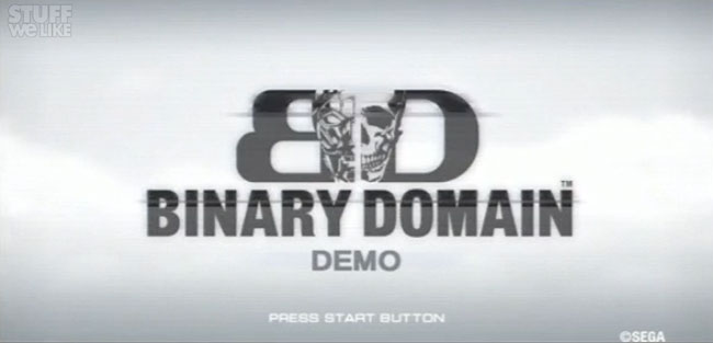 Binary Domain Demo Walkthrough