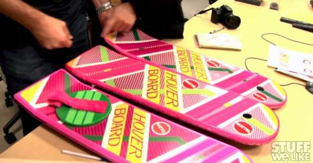 Making of The Back to the Future Mattel Hoverboard