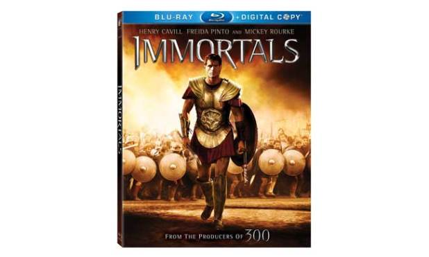 Immortals Bluray Review
