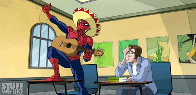 Ultimate Spiderman TV show Preview