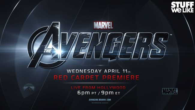 The Avengers Red Carpet LIVE
