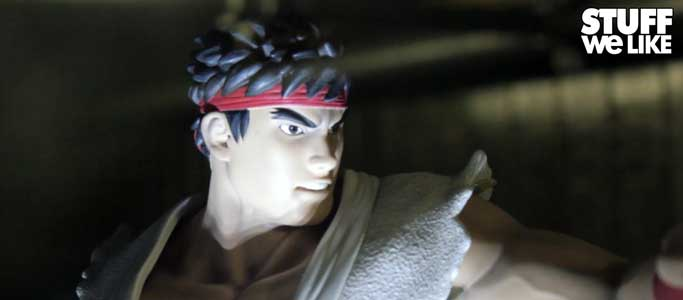 Street Fighter Ryu Statue