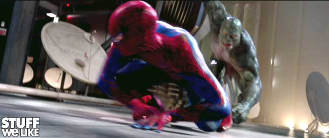 Spiderman and The Lizard