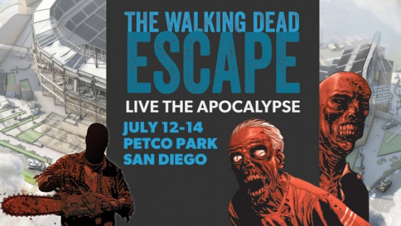 "Experience ""The Walking Dead – Escape: San Diego"" At Comic-Con"