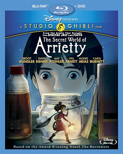 The Secret World of Arrietty – Blu-ray/DVD Review