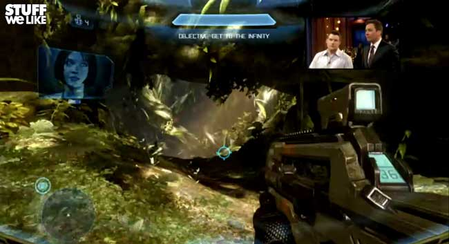 Jimmy Fallon Halo 4