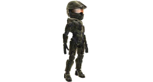 Halo 4 Master Chief Avatar Armor Giveaway