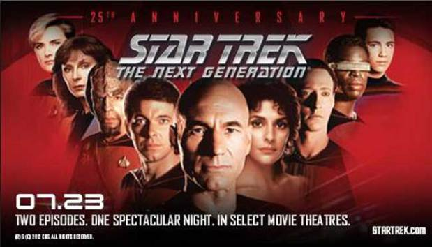 Star Trek The Next-Generation 25th Anniversary Event
