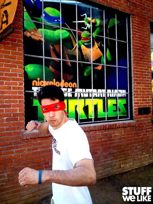Teenage Mutant Ninja Turtles Show Open
