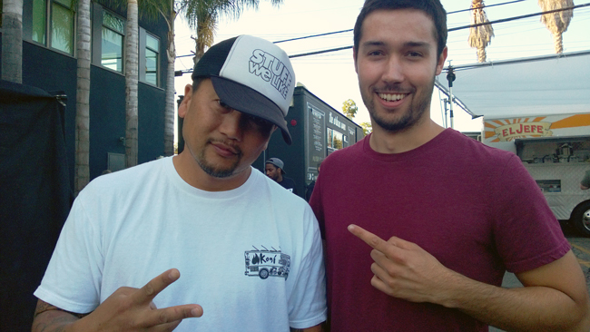 Roy Choi and David Rodriguez
