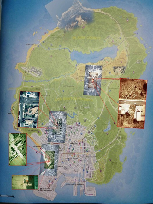 GTA V Los Santos map