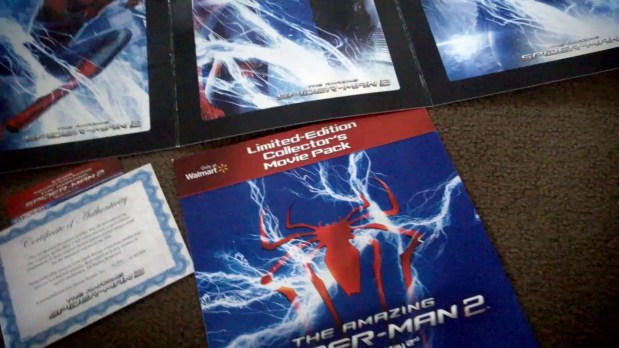 The Amazing Spiderman 2 Bluray Pre-Purchase Unboxing