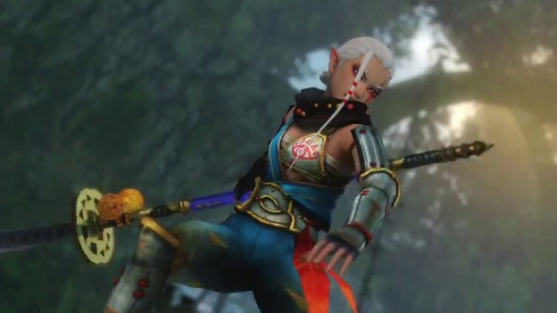 Hyrule Warriors Trailer with Impa and a Naginata