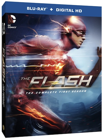 Own The Flash: The Complete First Season on Blu-ray TODAY!