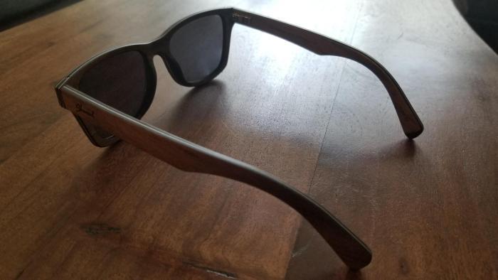 36e8b2b004b2 Shwood Canby Wood Walnut Grey Polarized Sunglasses Review - StuffWeLike