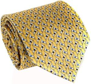 Horse Yellow Necktie