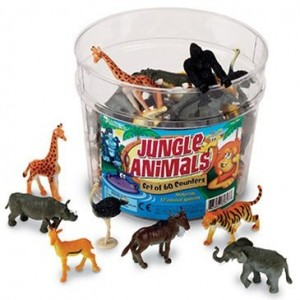 Jungle Animals Set Of 60