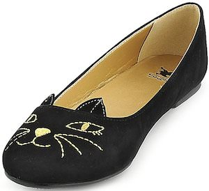 Black Kitten Shoes