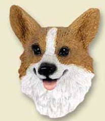 Dog Fridge Magnet of a Corgi