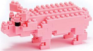 Pig Nanoblock Puzzle