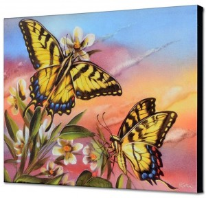 Butterfly Tiger Swallowtail Painting