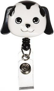 Puppy badge holder