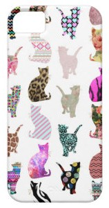 Whimsical Cats iPhone Case