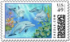 Dolphin stamps
