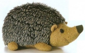 Hedgehog Aurora Plush