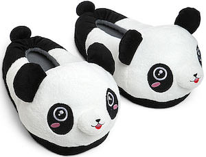 Panda Plush Slippers