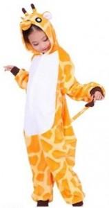 Giraffe Kids Onsie Pajamas