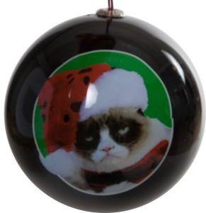 Grumpy Cat Holiday Ornament