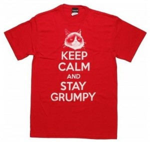 Grumpy Cat Keep Calm And Stay Grumpy T-Shirt