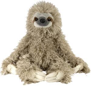 Three Toed Sloth Plush Animal