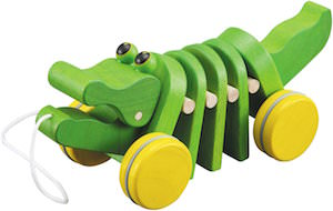 Plan Toy Dancing Alligator Wooden Toy