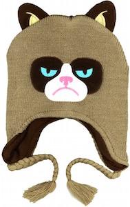 Grumpy Cat Laplander Winter Hat