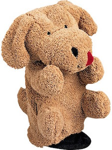 brown Dog Hand Puppet