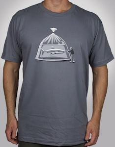 grey Pet Store Shark T-Shirt