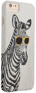 Case-Mate Zebra With Sunglasses iPhone 6 Case
